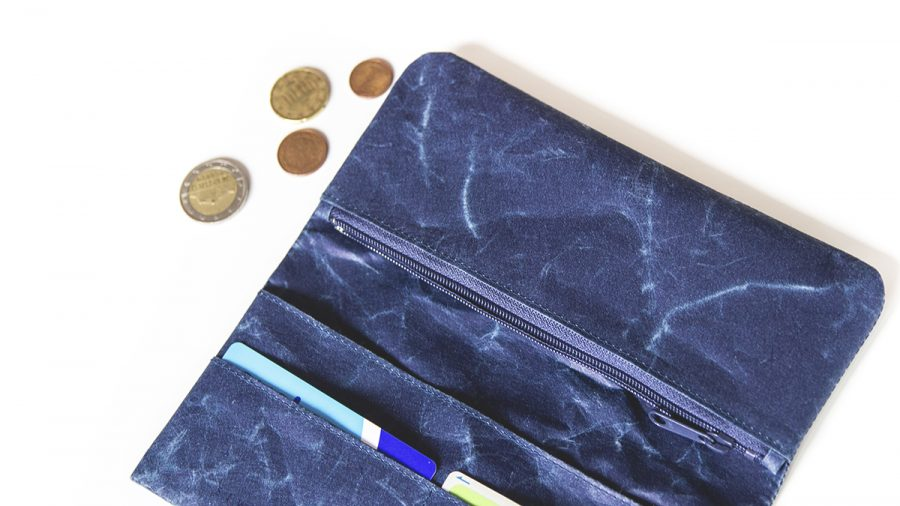 siwa wallet blue