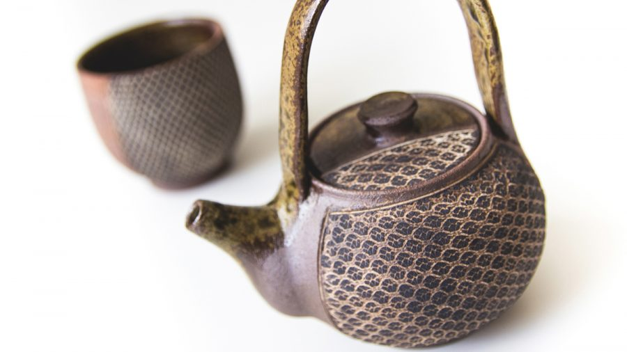 keramik tasse und kane