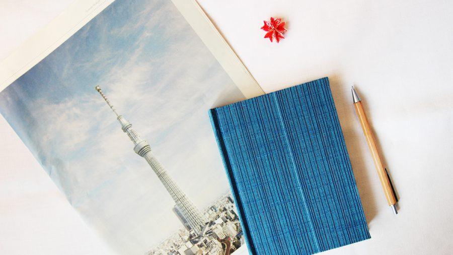 blaue notizbuch