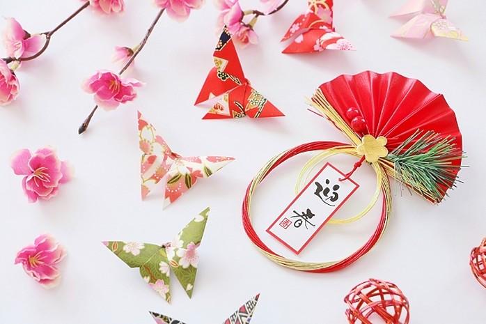 origami aus washi