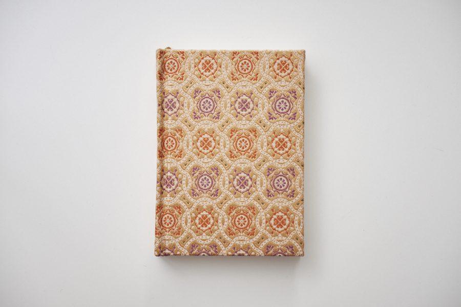 kimono notizbuch gold