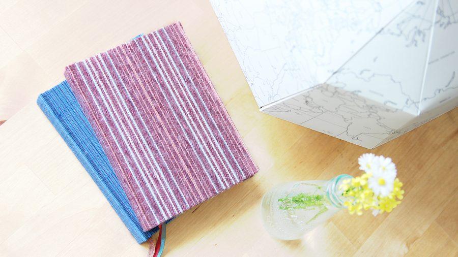 kimono notizbuch auf dem tisch
