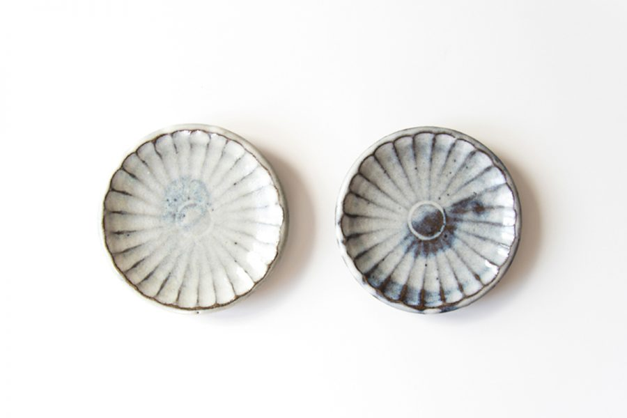 weiße keramik teller