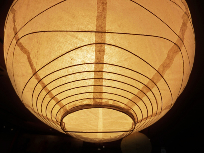 akari lampe - isamu noguchi - washi