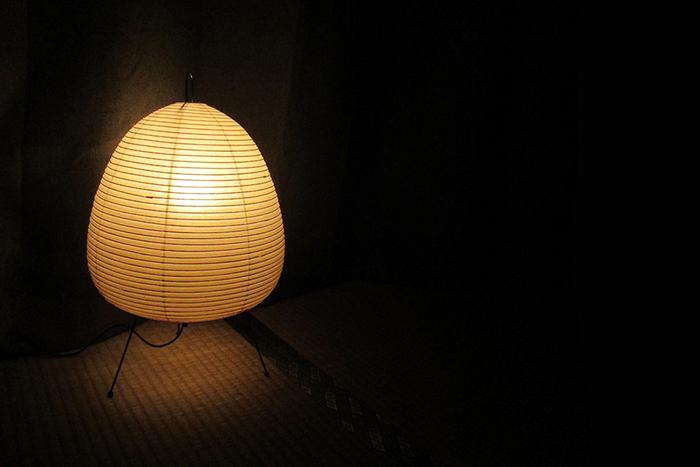 isamu noguchi washi lamp