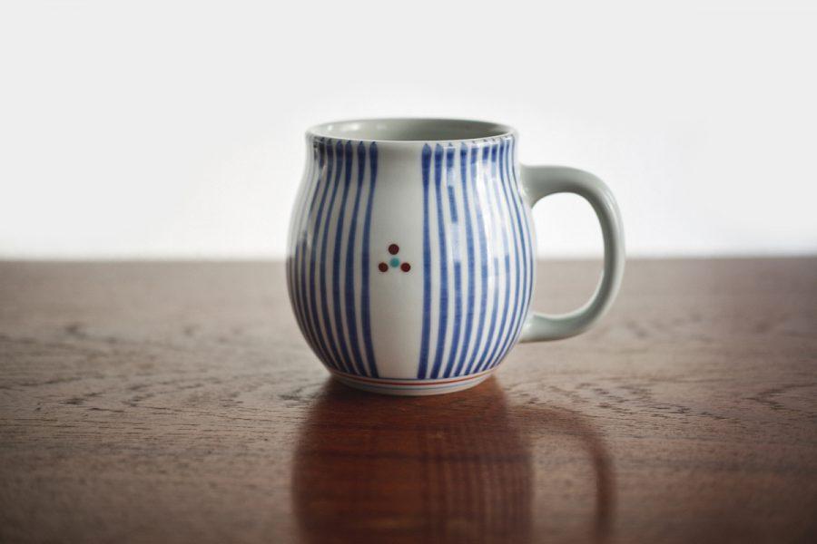großer kaffee tasse aus porzellan