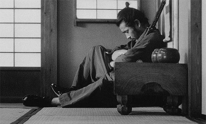 samurai schläft