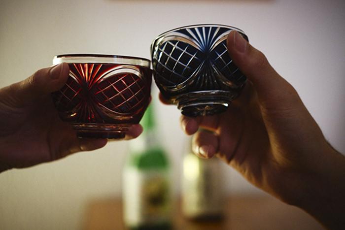 Sake-Tasse aus Kagoshima