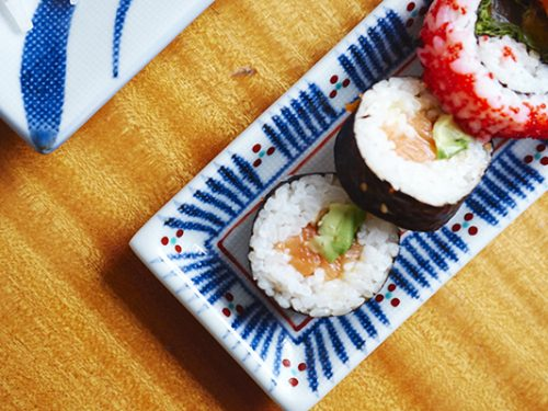 tobe sushi platte