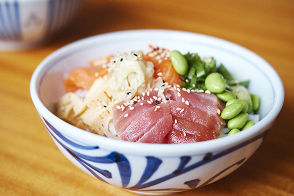 kaisendon - poke bowl