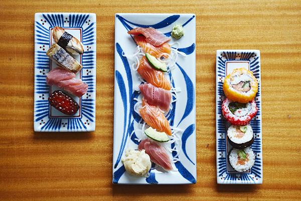 porzellan sushi set