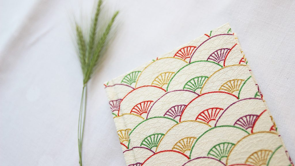 kimono notizbuch teruko