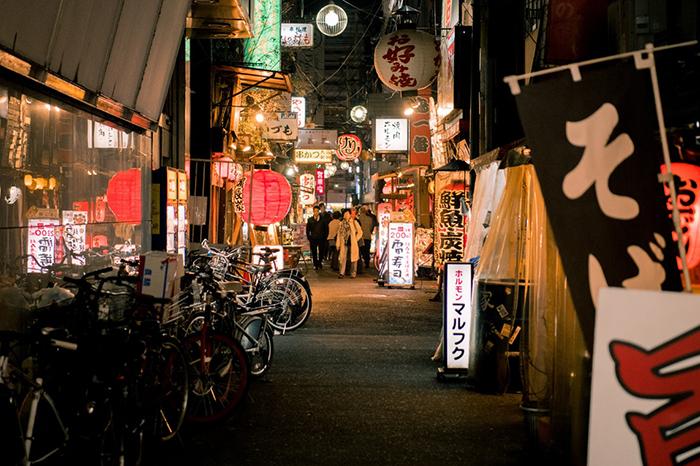 nakasu street in fukuoka