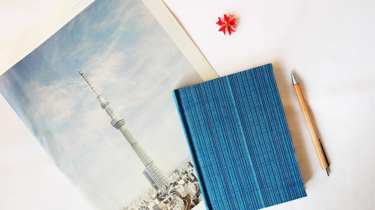 kimono notizbuch