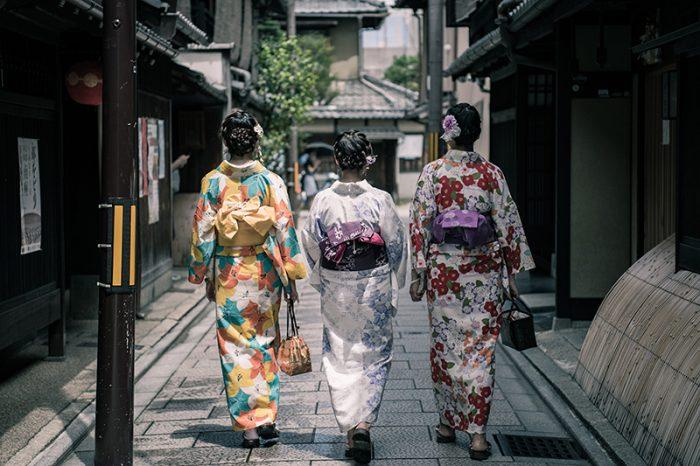 kimono frauen