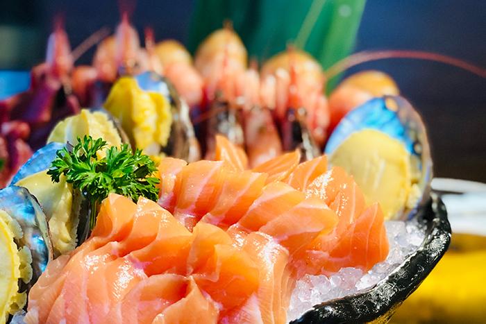 sashimi platte
