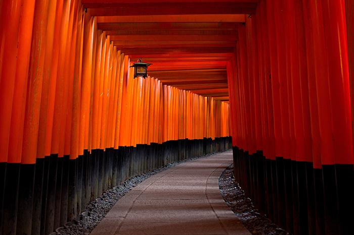 kyoto fushimiinari spazieren