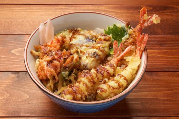 tempura mit reis