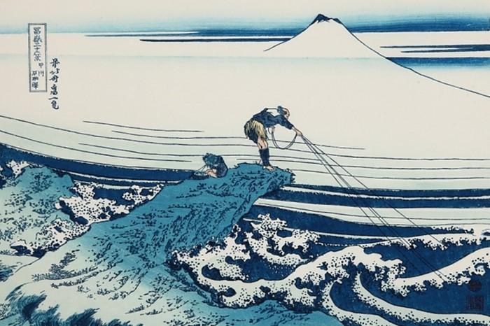 hokusai meer