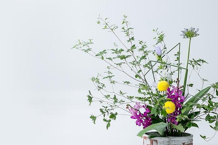 blumen ikebana stil