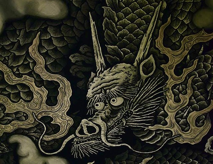japanische Tattoos - japanischer Drache- Irezumi