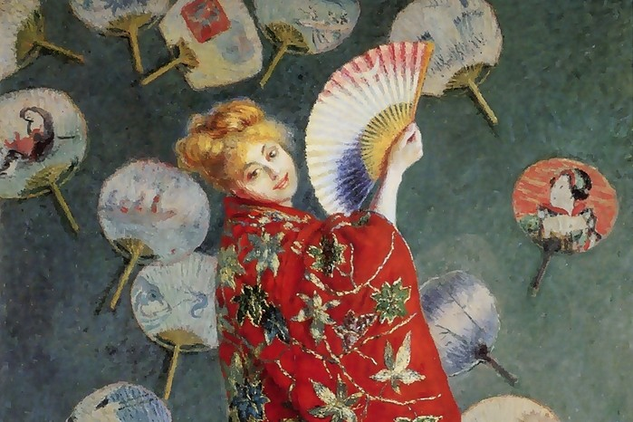 claude monet damae monet en costume