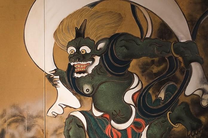 Bild von einem japanischen Teufel / Oni
