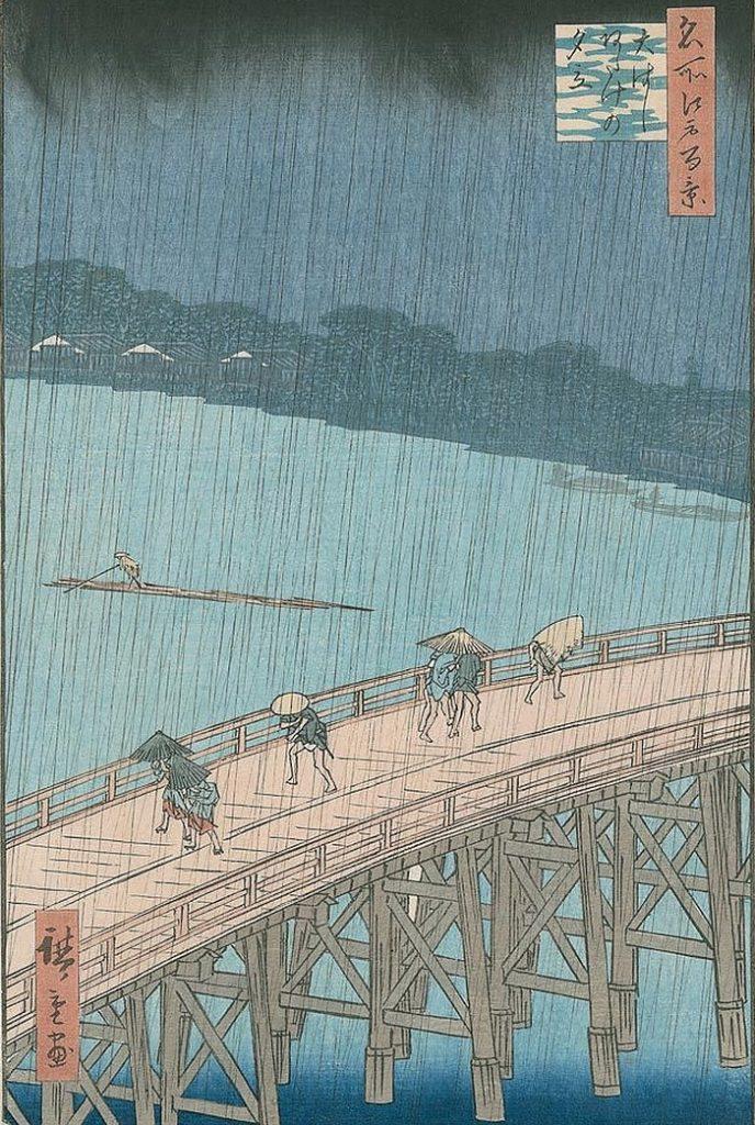 utagawa hiroshige - die brücke