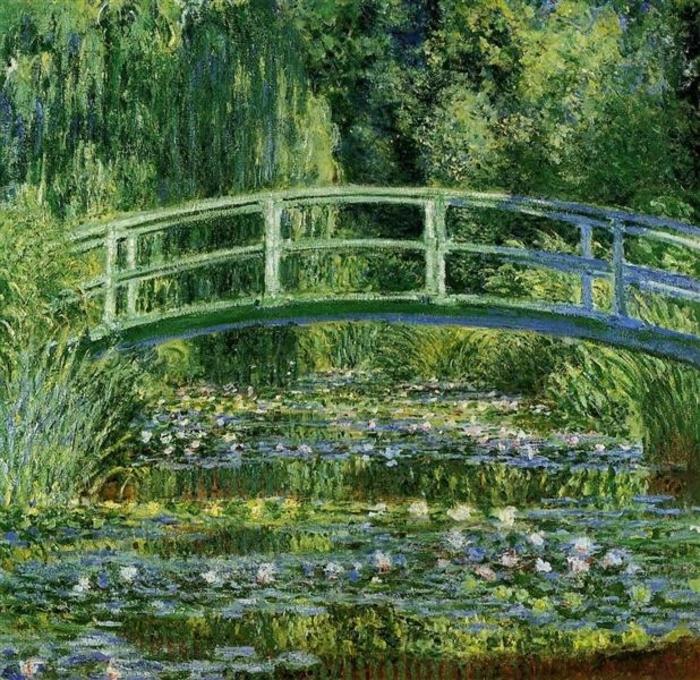 Der japanische Seerosenteich - Claude Monet - 1899 - Wiki Art - Japonismus