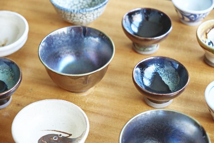 sake choko aus keramik