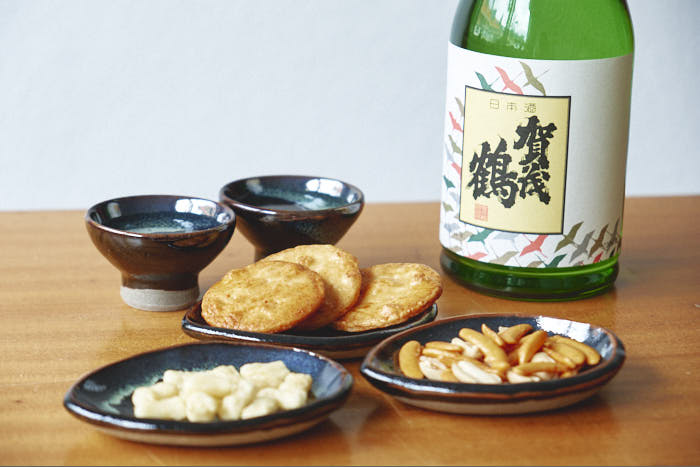 sake snacks