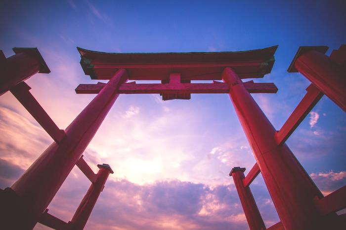 japan torii reise