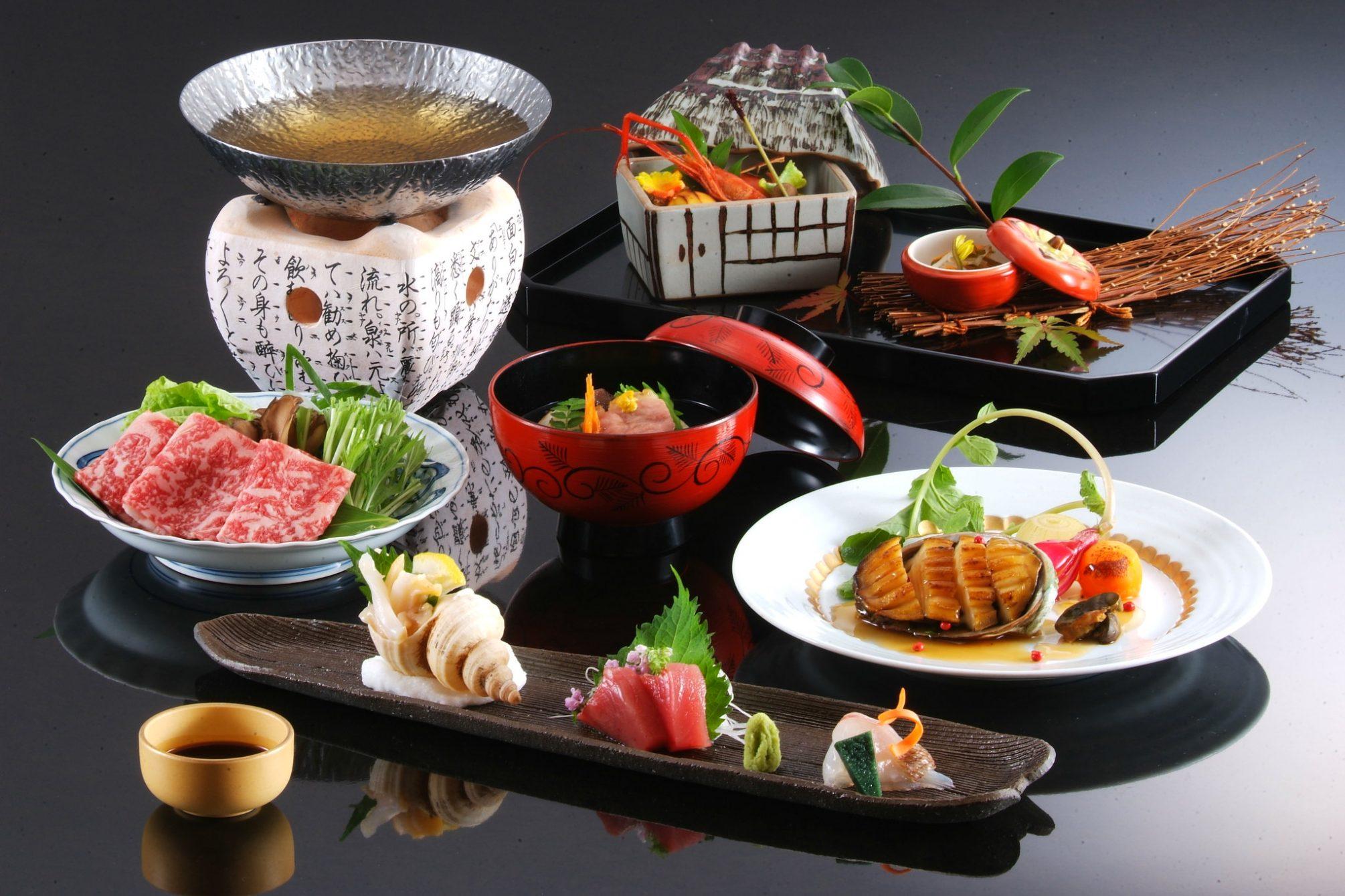 kaiseki ryori japanisches Essen