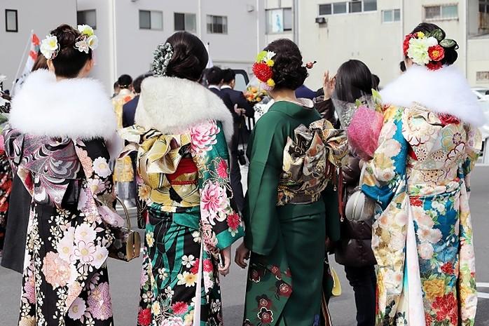 kimono für seijinshiki