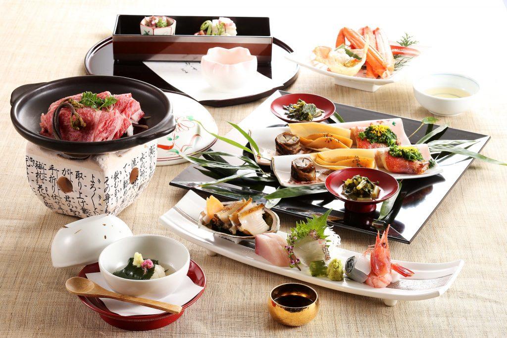 Japanisches Kaiseki Menü